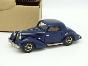 Ma Collection Brianza Résine 1/43 - Hotchkiss Gs3 1939 Bleue