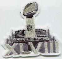 2-2-2014 MetLife Stadium NJ SUPER BOWL XLVIII SUPERBOWL SB 48 JERSEY PATCH b