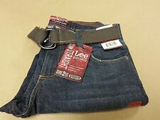 Lee Boy/'s Blue Citrine Dungarees Slim Straight Leg Jeans Size  14 16 18 R