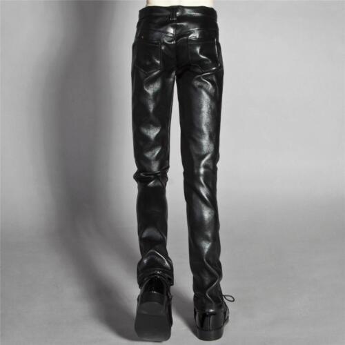 wamami 77# Black Artificial Leather Trousers//Pants SD17 DZ70 70CM BJD Dollfie