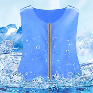 Body Cooling Vest Ice Workwear Summer Outdoor Sunstroke Anti High Temperature