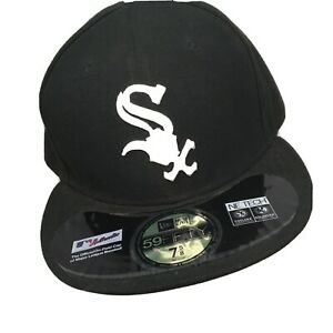 7 1//8 Authentic Chicago White Sox New Era 59Fifty Cap