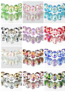HOT-5PCS-MURANO-Crystal-AB-beads-European-charm-bracelet-optional