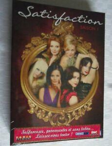 COFFRET DVD NEUF SERIE : SATISFACTION : SAISON 1 - MAISON CLOSE - CALL GIRLS