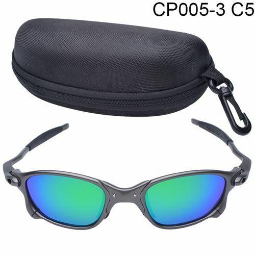 X-Metal Juliet Cyclops Sunglasses Ruby Polarized Lenses titanium Goggles