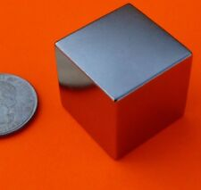 Magnet Cube N52 Super Very Strong Rare Earth Neodymium Magnetic Block 1 Inch