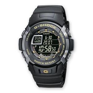 Orologio-CASIO-G-SHOCK-G-7710-1ER-Silicone-Nero-Chrono-Sveglia-Sub-200mt