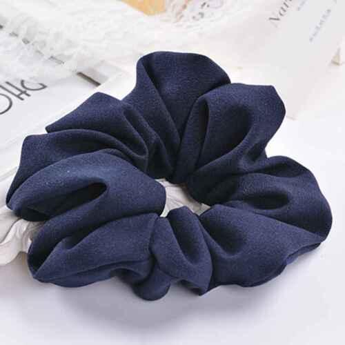 Chiffon Elastic Hair Rope Tie Women Hair Ring Ponytail Holder Dance Scrunchie