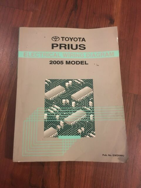 2005 Toyota Prius Electrical Wiring Diagram Manual Ewd