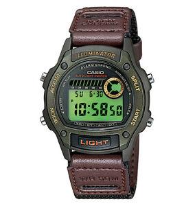Casio-W94HF-3AV-Digital-Chronograph-Watch-Nylon-Band-Stopwatch-Alarm