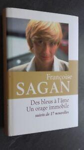 Francoise Sagan Delle Blu L Anima Edizioni Stock 2011+Copertina+Segnalibro Tbe