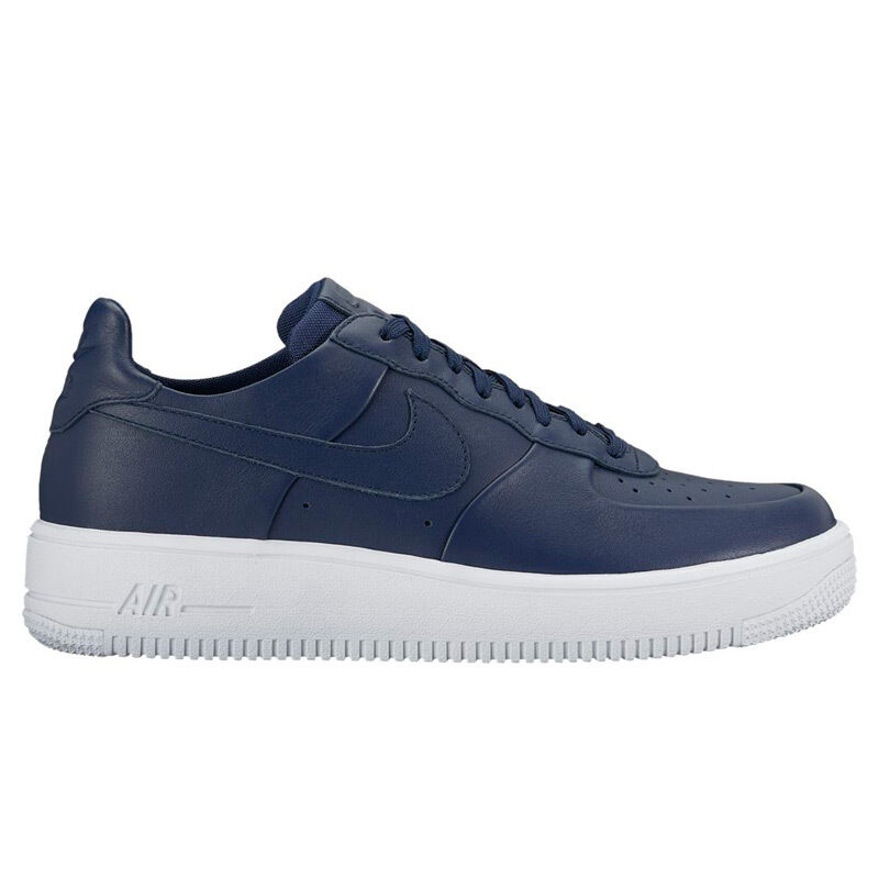 Hommes Nike Air Force 1 Ultra Force Leather Very Light Weight Sneakers 845052 402