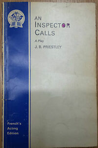 An Inspector Calls: A Play by J. B. Priestley (Paperback, 1948)
