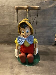 Very Nice! VINTAGE Walt Disney 5 Plastic String Puppet PINOCCHIO Hong Kong