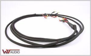 Details zu Bi-Wiring Lautsprecherkabel speaker cable 2x2,50 Meter on