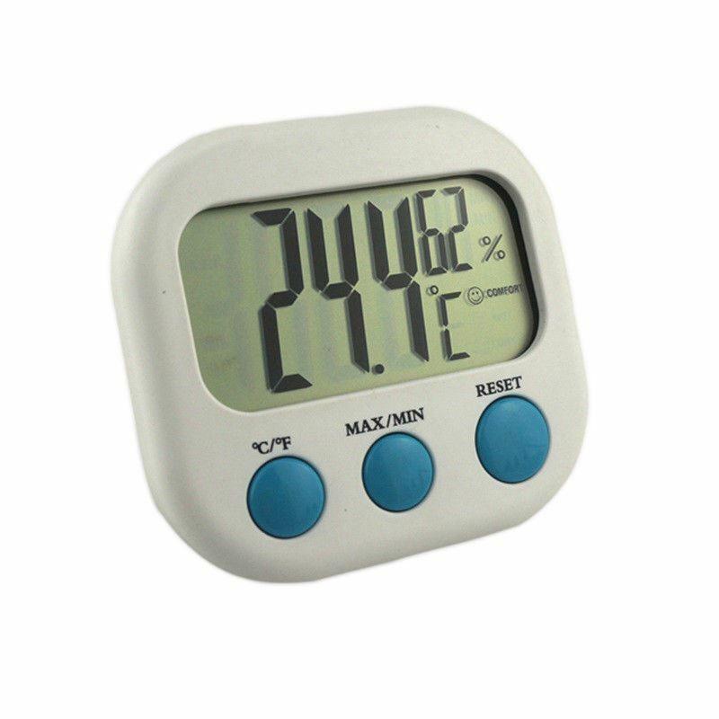 Indoor Thermometer Hygrometer Mini Digital Room Temperature Humidity Meter Gauge