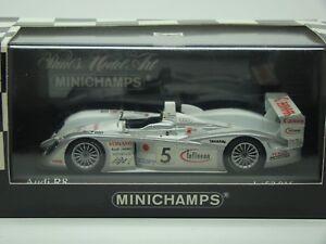 MINICHAMPS-AUDI-R8-24HRS-DU-MANS-2003-ARA-MAGNUSSEN-WERNER-1-43