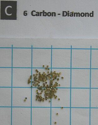 1 carat synthetic diamonds 0.6-0.7mm 99.95% pure element 6 sample