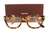 Brand Tom Ford Eyeglasses Frames 5178 Color 055 Havana Men Women Unisex