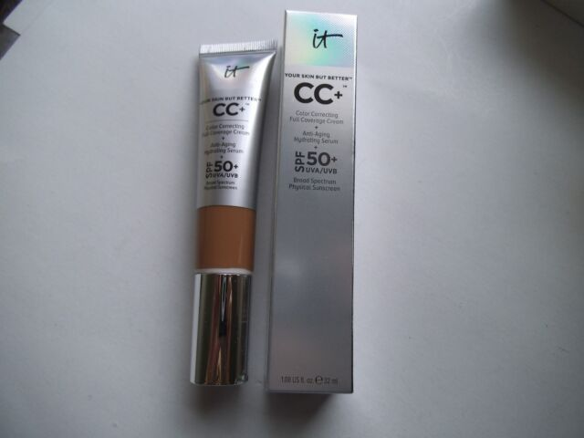 It Cosmetics Your Skin But BetterTM CC Cream with SPF 50+ (RICH) 1.08 oz / 32 ml