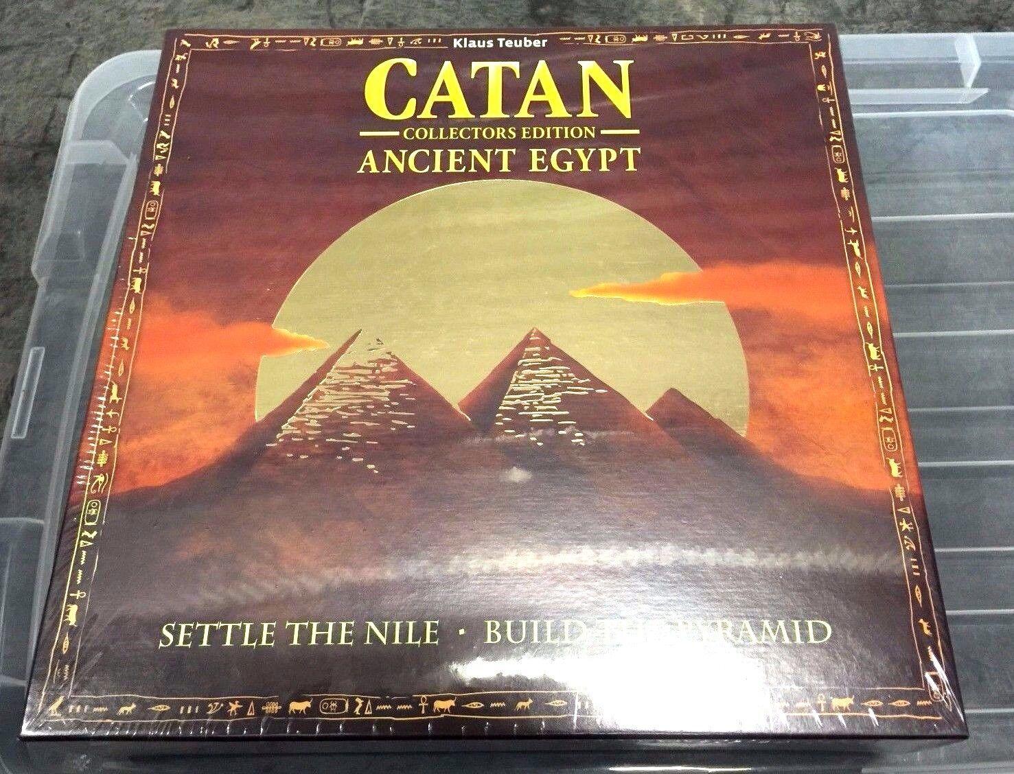 Les colons de Catan Egypte ancienne collector's Limited Ed. Mayfair  Jeu Neuf Scellé  acheter pas cher
