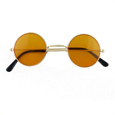CLEAR Ozzy Hippie Hippy 60s 70s Round Lennon Specs Fancy Dress Costume Glasses