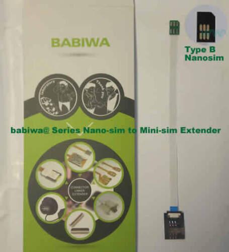 babiwa series 30B TybeB Nanosimcard to Minisimcard Microsimcard Extension Cable
