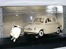 Vitesse 031 1960 Steyr-Puch 650T Beige + Vespa 1/43