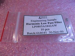 AVX-LP0805A1842AW-Low-Pass-Filter-SMT-NOS-Qty-10