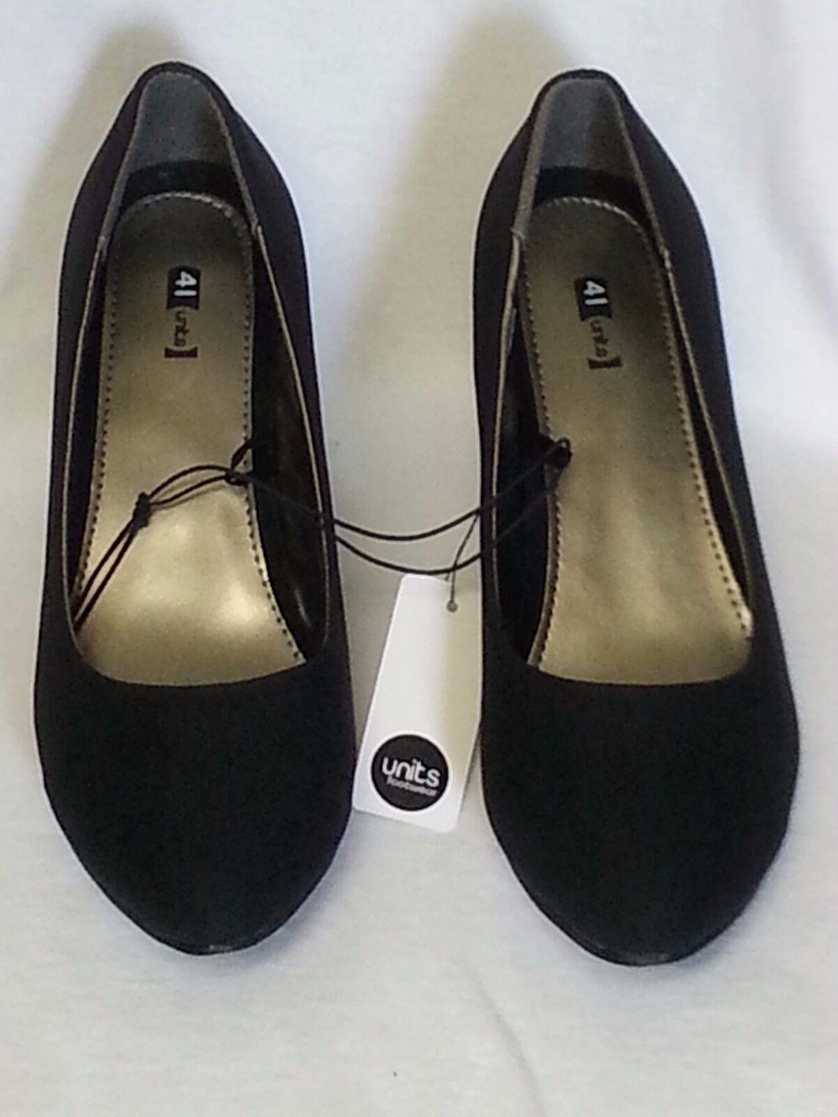 schwarze Damen Pumps Absatzschuhe Schuhe units footwear