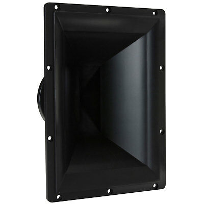 """7"""" x 10"""" Horn Tweeter with 1"""" Titanium Compression Driver 90"""