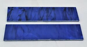 KIRINITE-MIDNIGHT-BLUE-PEARL-3-8-034-Scales-for-Knife-Making-Woodworking-Bushcraft