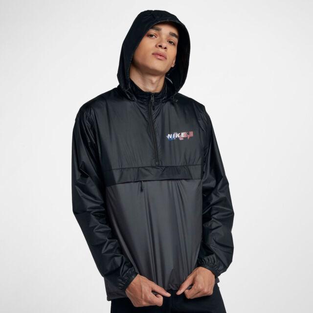 c6764ad1a Nike SB Anarak Pack Hood Skateboarding Men's Sz Large Jacket 886110 010