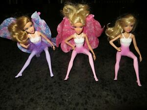 Barbie-Lot-Fairytale-Magic-Fairy-Doll-Lot