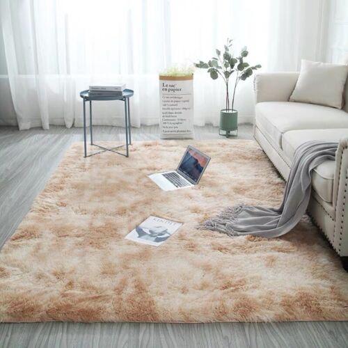 Hairy Carpet balcony living Bedroom corridor Rectangular Door floor Faux Fur mat