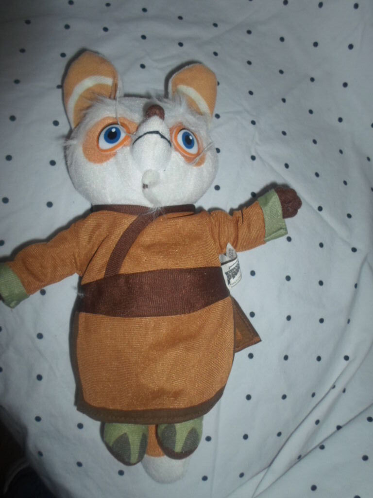 Dreamworks Kung Fu Panda Master Shifu12  Nanco Plush Soft Toy Stuffed Animal