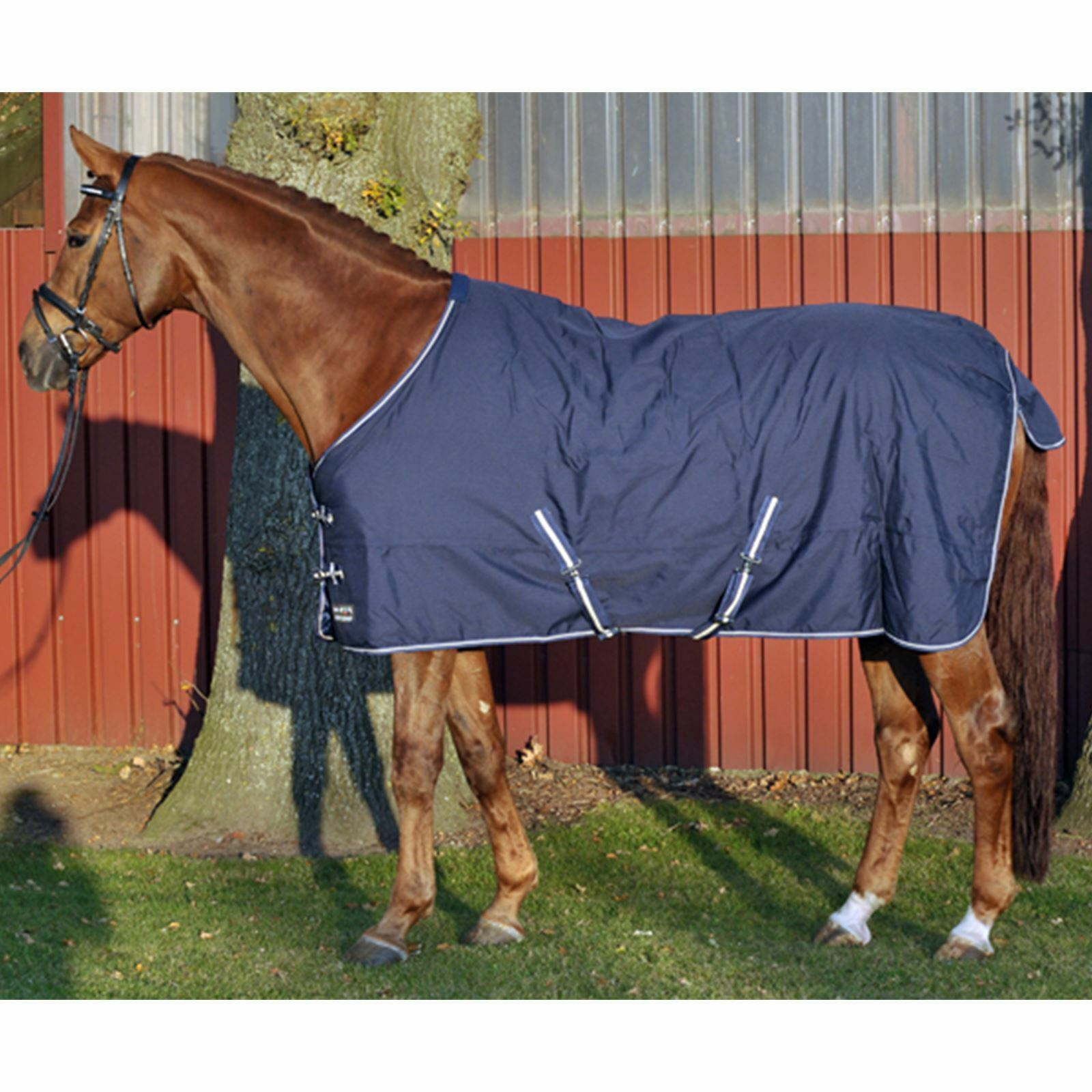 HKM Turnout Rug Economic With Fleece Lining Waterproof Waterproof Waterproof Horse Protection Blanket 7db40c