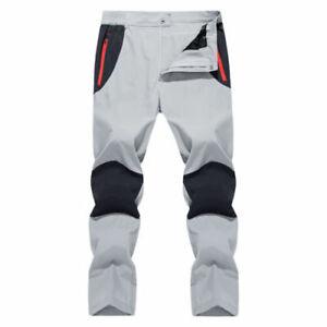 Impermeable Pantalones Para Senderismo Para Hombre Pantalones Tacticos Ejercito Soft Shell Pantalones Hombre Ebay