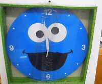 The Cookie Monster - 13.5 Decoupage Wall Clock By Vandor