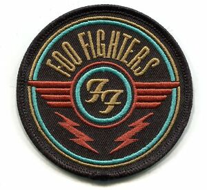 FOO-FIGHTERS-ff-wings-logo-IRON-ON-PATCH-Embroidered-Patch