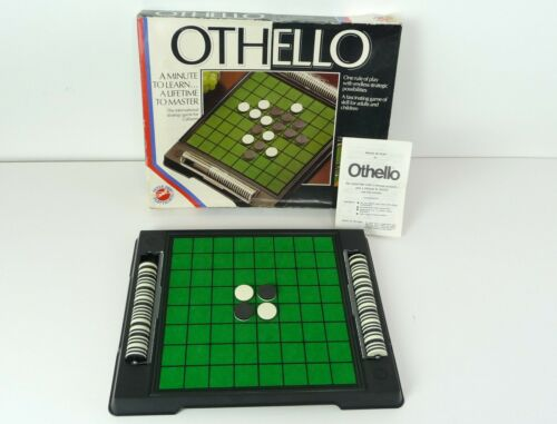 Spare Parts OTHELLO Game by Peter Pan Playthings inc Black /& White Counters