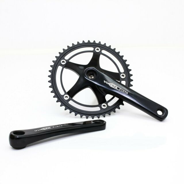 SUGINO COOL MESSENGER TRACK BICYCLE CRANKS w// 46T Ring 130BCD FIXED GEAR