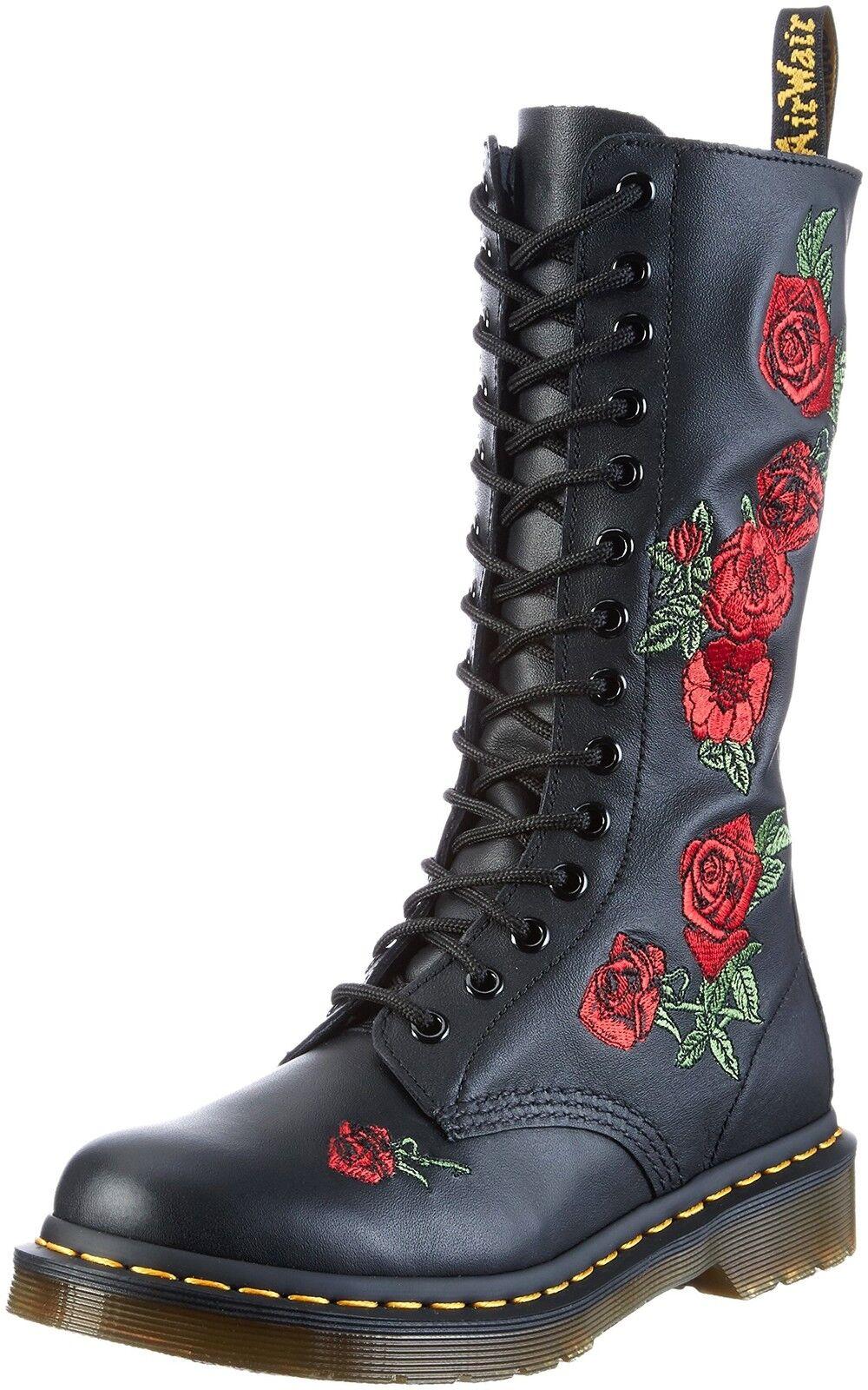 Dr. Martens Women's 14-Eye 14-Eye 14-Eye Vonda Casual Boot Black 5 F(M) UK   7 B(M) US 0499f5