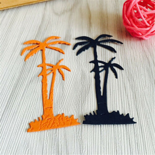 Coconut Tree Cutting Dies Stencil For Scrapbooking Album Card Embossing Craft JD