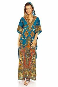 African-Women-Kaftan-Dashiki-Boho-Hippie-Long-Dress-Maxi-Gown-Caftan-Plus-size