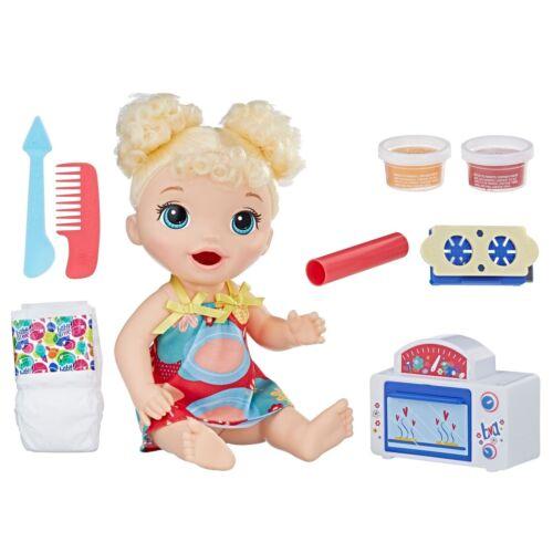 Baby Alive spuntino DOLCETTI Baby Blonde Capelli Ricci