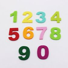 Number 0-9 DIY Polyester Felt Fabric For Sewing Craft 3MM Thick Felt  Fabric For
