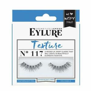 c5890ff5867 Image is loading Eylure-Strip-False-Lashes-Texture-No-117