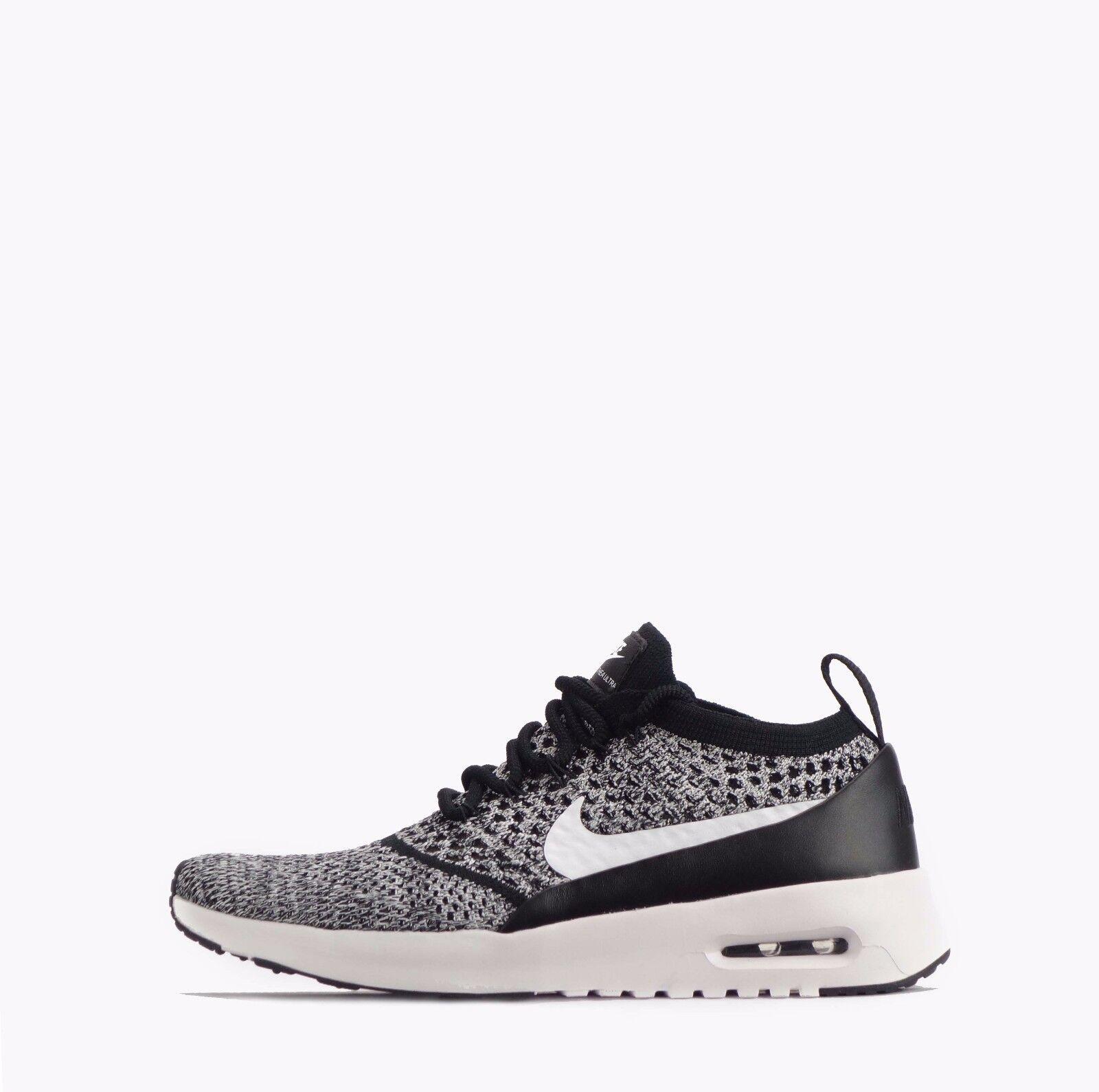 Nike Air Max Thea Ultra Flyknit Women's shoes Black White
