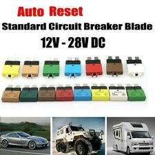 12v 24v Resettable Circuit Breakerblade Fuse 5 30a Marine Automatic Reset